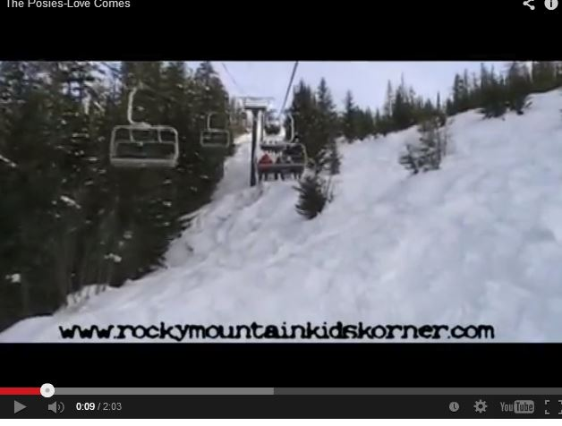 Big Mountain Ski Lift Ride