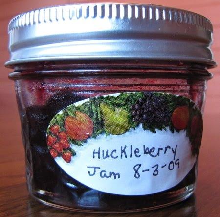 Marlene's Huckleberry Jam