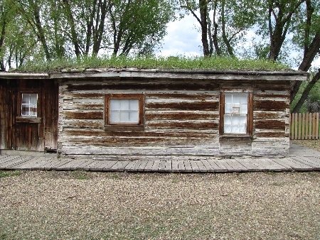 Virginia City Sod House