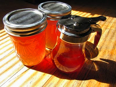 homemade fireweed honey