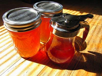homemade fireweed honey