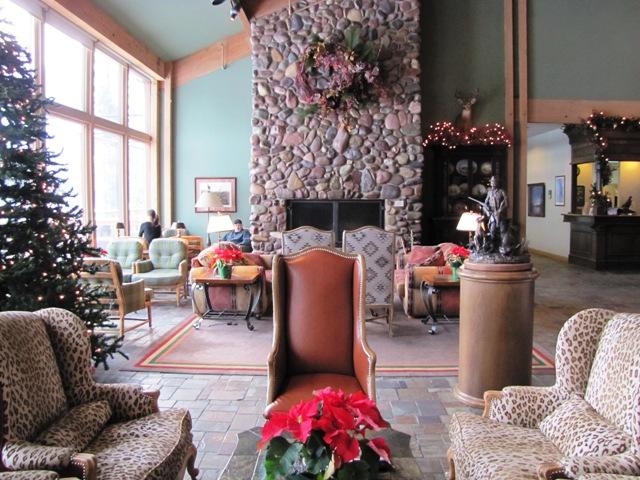 Grouse Mountain Lobby
