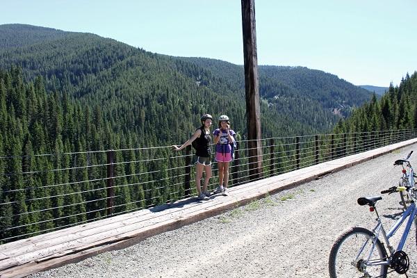 Train Trestle Hiawatha Bike Trail