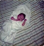 My eldest as an infant.