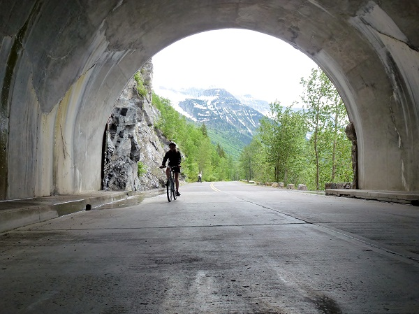Cycling the Going to the Sun Road