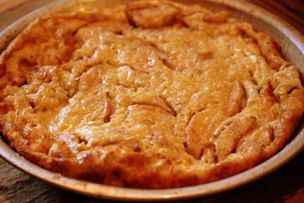 Apple-Raisin Oven Pancake (Baked) - RMKK Companion